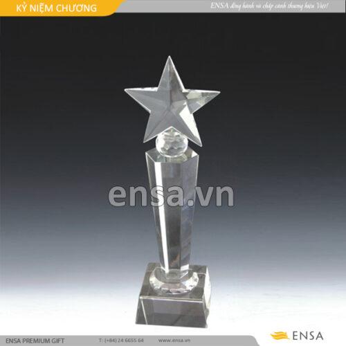 kỉ niệm chương, quà tặng doanh nghiệp, cung cấp kỉ niệm chương trang trọng, cup pha lê vinh danh